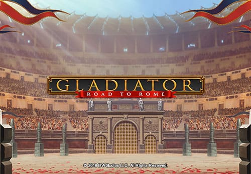 Casino Slots - Gladiator - Road To Rome